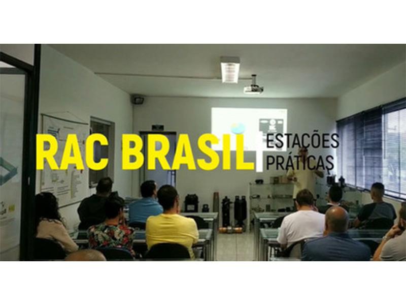 Alunos do SENAI na RAC Brasil